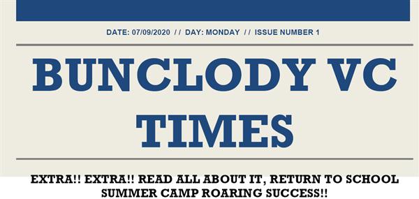 Bunclody VC Times Edition No 1