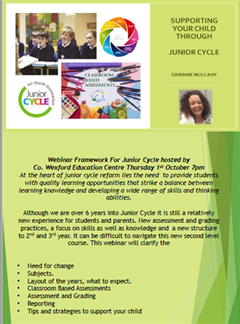 Supporting your child through Junior Cycle