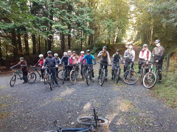 Transition Year Mountain Biking Trip