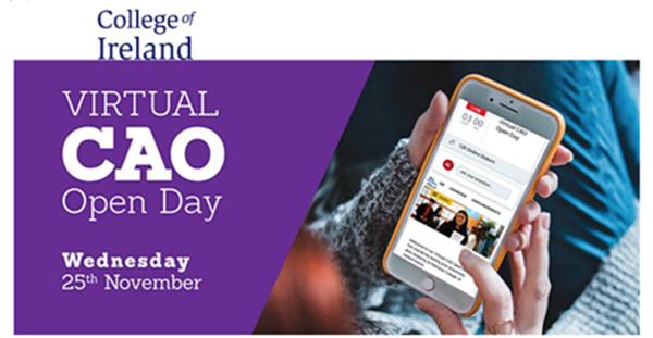 National College of Ireland Virtual Open Day
