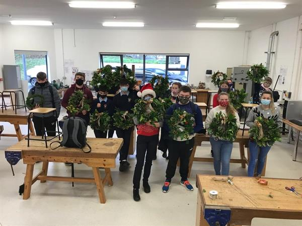 TY Wreath making workshop