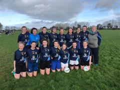 Girls Junior Football Team